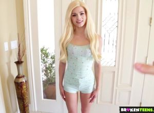 BrokenTeens - Young woman Sitter Takes..