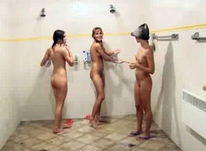 Bare youngster women lather each other..