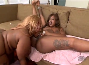 Obese ebony gfs make girly-girl joy