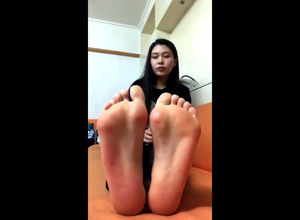 Stellar asian young lady  taunts you..