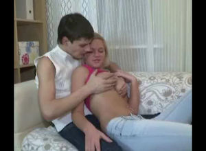 Nice blond young lady was pounded stiff