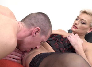 Mature mothers on ultra-kinky studs